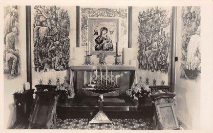 Ansichtkaart Rijswijk (ZH) Kapel Maria van Altijd Durende Bijstand St. Bonifacius Kerk Interieur 's-Gravenhage HC24357