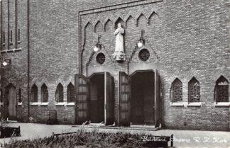 Ansichtkaart Bolsward Ingang R.K. Kerk 1967 HC24358
