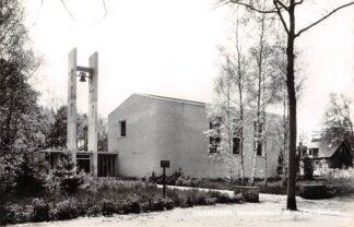 Ansichtkaart Driebergen M. van Carnbeelaan 1965 Gereformeerde Maranatha kerk in 2013 gesloten en afgebroken HC24359