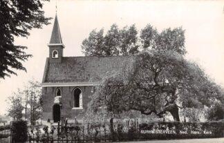 Ansichtkaart Surhuisterveen Ned. Hervormde Kerk Kerkhof 1968 Achtkarspelen HC24377
