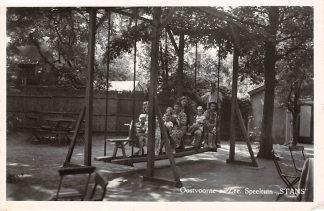 Ansichtkaart Oostvoorne aan Zee Speeltuin Stans 1953 HC24379