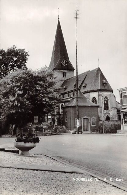 Ansichtkaart Noorbeek Limburg R.K. Kerk 1952 Eijsden - Margraten HC24390
