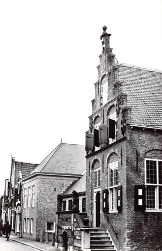 Ansichtkaart Haastrecht Raadhuis 1965 Krimpenerwaard HC24393