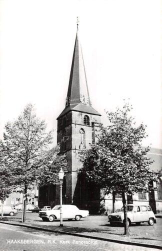 Ansichtkaart Haaksbergen R.K. Kerk Pancracius Auto 1969 HC24394