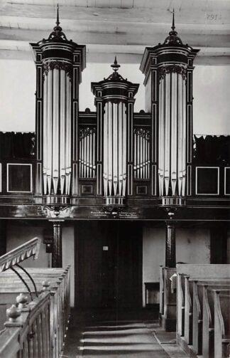 Ansichtkaart Norg Drenthe Ned. Hervormde Kerk Orgel HC24398