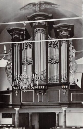 Ansichtkaart Zuidlaren Ned. Hervormde Kerk Orgel 1965 HC24399
