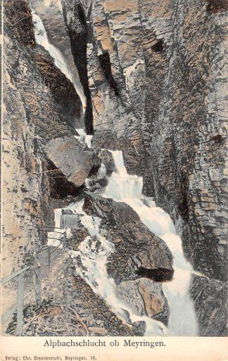 Ansichtkaart Zwitserland Alpbachschlucht ob Meyringen Schweiz Suisse Switzerland Europa HC24409
