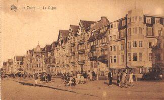 Ansichtkaart België Het Zoute Le Zoute Knokke La Digue Strand Europa HC24424