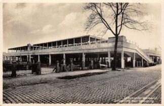 Ansichtkaart Leeuwarden Leeuwarder Veemarkt Uitbreiding door verdieping 1929 Fotokaart Markt HC24436