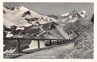 Ansichtkaart Zwitserland Gross Glockner Hochalpenstrasse Blick vonder Edelweisstrasse zum Gross Glockner Schweiz Suisse Switzerland Europa HC24457