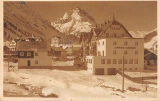 Ansichtkaart Oostenrijk Galtur O.Steiner Landeck Alpenhaus Fluchthorn Fotokaart 1932 Osterreich Austria Europa HC24462