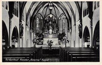 Ansichtkaart Aerdenhout Klooster Alverna Kapel 1941 Bloemendaal Haarlem HC24487