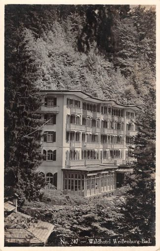 Ansichtkaart Zwitserland Weissenburg-Bad Waldhotel 1932 Schweiz Suisse Switzerland Europa HC24499