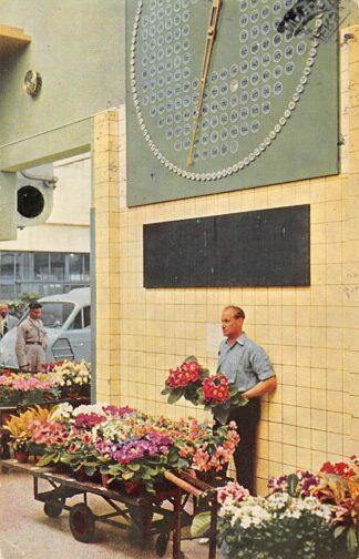 Ansichtkaart Aalsmeer Centrale Aalsmeersche Veiling Veilingklok 1956 HC24521