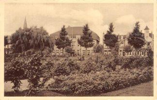 Ansichtkaart Alkmaar Rosarium Nassauplein School 1933 HC24526