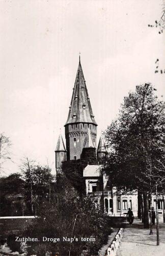 Ansichtkaart Zutphen Droge Nap's Toren 1954 HC24550