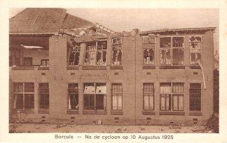 Ansichtkaart Borculo School Na de cycloon op 10 Augustus 1925 HC24555