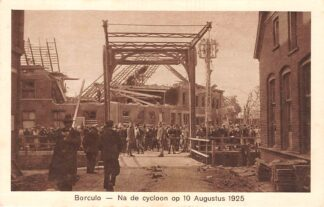 Ansichtkaart Borculo Na de cycloon op 10 Augustus 1925 HC24557