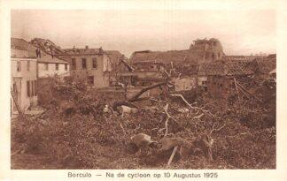 Ansichtkaart Borculo Na de cycloon op 10 Augustus 1925 HC24558