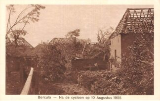 Ansichtkaart Borculo Na de cycloon op 10 Augustus 1925 HC24561