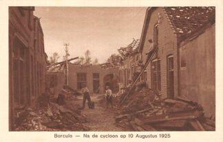 Ansichtkaart Borculo Na de cycloon op 10 Augustus 1925 HC24562