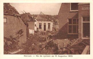 Ansichtkaart Borculo Na de cycloon op 10 Augustus 1925 HC24563