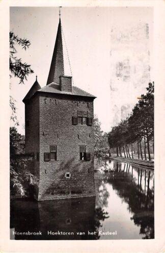 Ansichtkaart Hoensbroek Hoektoren van het Kasteel 1955 HC24577