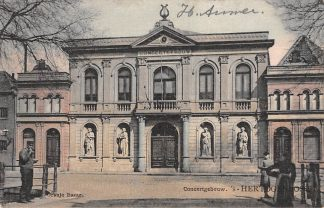Ansichtkaart 's-Hertogenbosch Concertgebouw 1907 Tulp HC24617