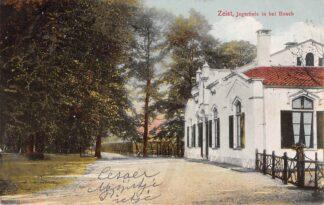 Ansichtkaart Zeist Jagerhuis in het Bosch 1913 HC24618