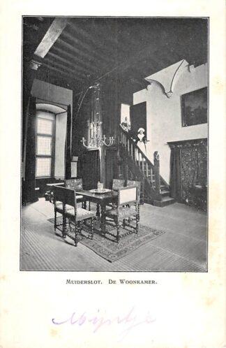 Ansichtkaart Muiden Muiderslot De Woonkamer Kasteel HC24631