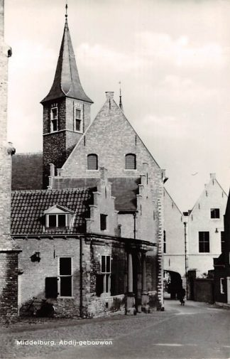 Ansichtkaart Middelburg Abdijgebouwen 1967 HC24672