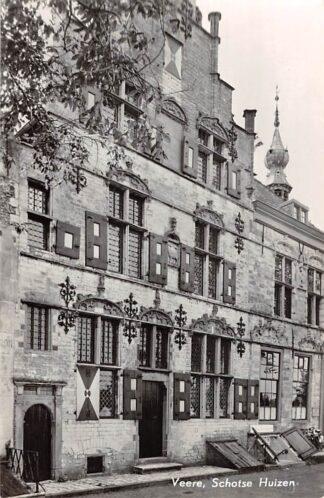 Ansichtkaart Veere Schotse Huizen 1958 Noord-Beveland HC24682