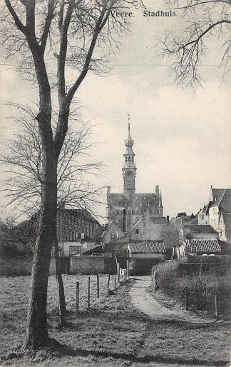 Ansichtkaart Veere Stadhuis Noord-Beveland HC24686