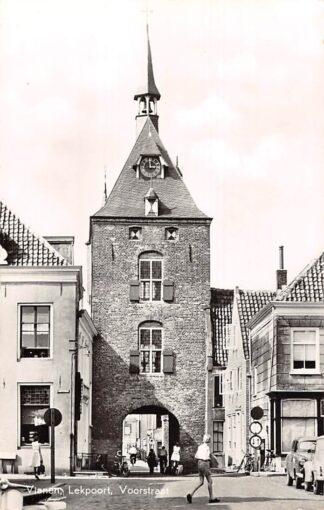 Ansichtkaart Vianen Lekpoort Voorstraat 1959 HC24693