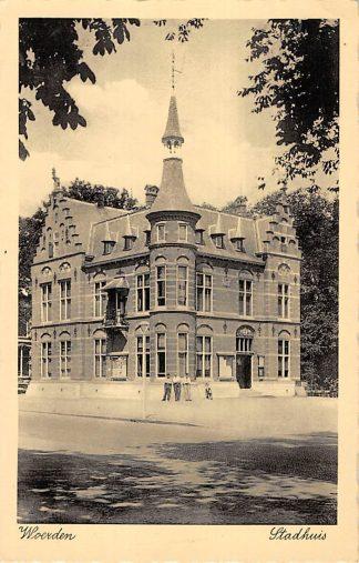 Ansichtkaart Woerden Stadhuis HC24694