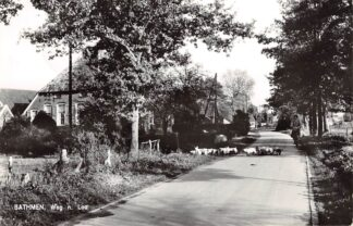 Ansichtkaart Bathmen Weg n. Loo 1966 Deventer HC24704