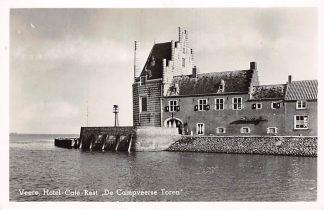Ansichtkaart Veere Hotel Café Restaurant De Campveersche Toren 1951 Noord-Beveland HC24711