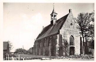 Ansichtkaart Vrouwenpolder N.H. Kerk 1955 Veere Walcheren HC24714