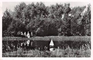 Ansichtkaart Vrouwenpolder Goudviskom 1959 Walcheren Veere HC24718