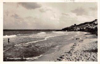 Ansichtkaart Vrouwenpolder Strand en Duin Zee 1957 Veere Walcheren HC24723