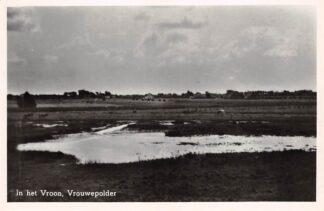 Ansichtkaart Vrouwenpolder Vrouwepolder In het Vroon 1949 Veere Walcheren HC24724