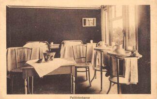 Ansichtkaart Laren (NH) Amsterdams Sanatorium voor borstlijders Hoog Laren Patiëntenkamer Ziekenhuis 1919 HC24730