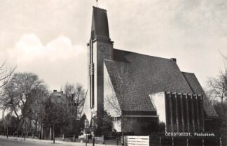 Ansichtkaart Oegstgeest Pauluskerk Ned. Hervormde Kerk 1960 HC24740