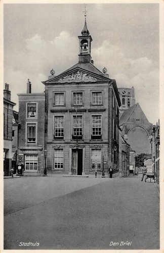 Ansichtkaart Brielle Den Briel Stadhuis 1934 HC24750