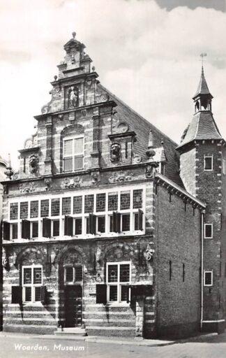 Ansichtkaart Woerden Museum 1968 HC24753