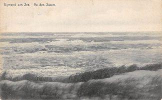 Ansichtkaart Egmond aan Zee Na den Storm 1929 HC24756