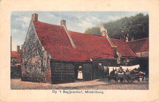 Ansichtkaart Middelburg Op 't Begijnenhof Hondenkar HC24779