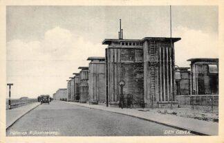 Ansichtkaart Den Oever Heftoren Rijksstraatweg Sluizen IJsselmeer 1939 HC24787