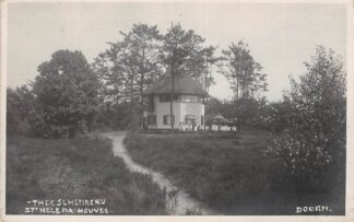 Ansichtkaart Doorn Fotokaart 1933 Theeschenkerij St. Helena Heuvel HC24796