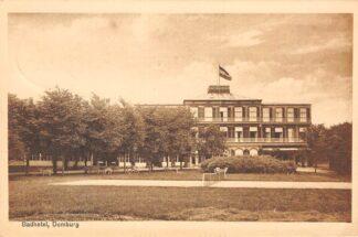 Ansichtkaart Domburg Badhotel 1918 Walcheren HC24849
